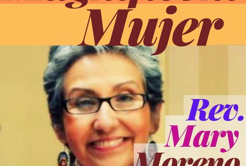Episode 23 Rev. Mary Moreno Richardson